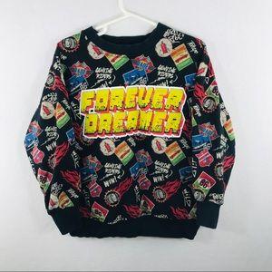 Zara Boys Size 6 Racing Sweatshirt